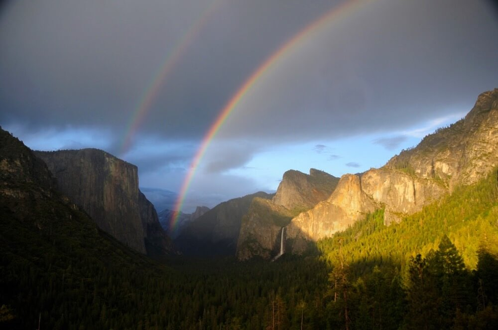 Ahmer Inam - Yosemite Valley Double Rainbow