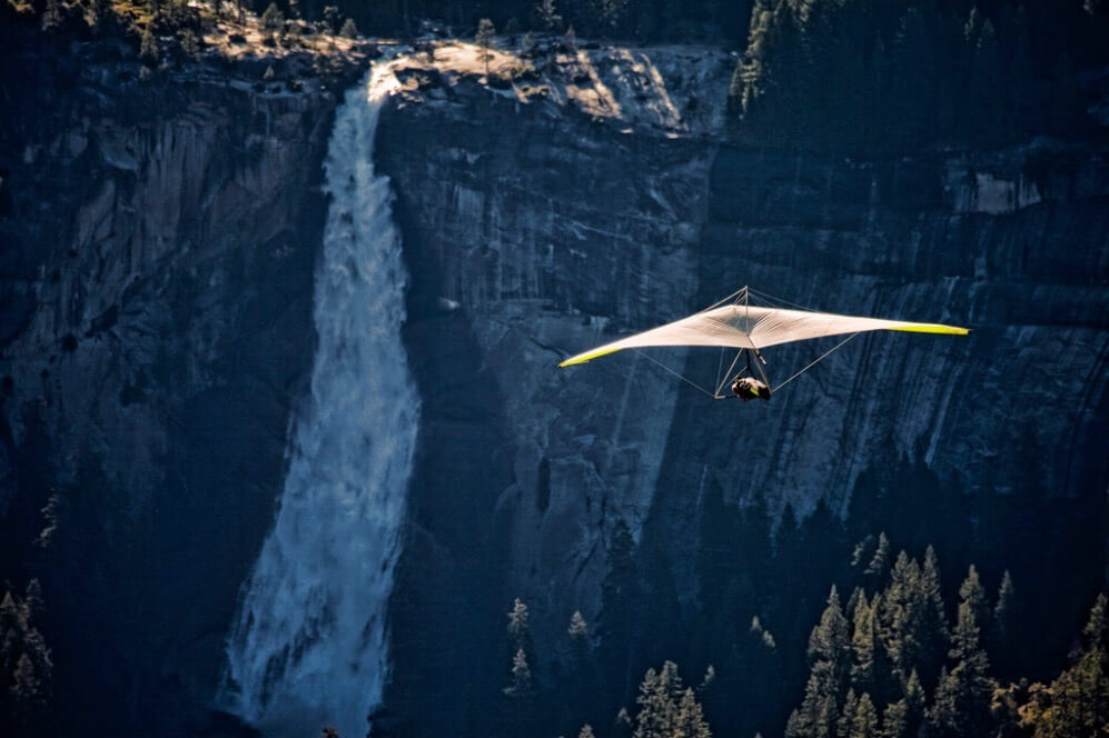 Ken Shelton - In Flight Over The Yosemite Valley