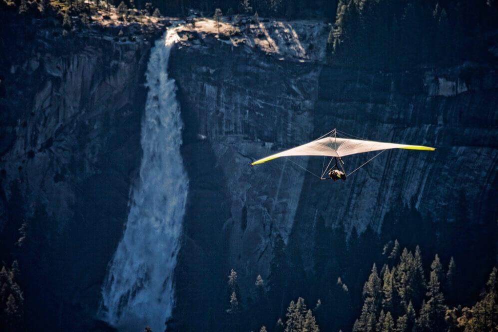Ken Shelton - In Flight Over The Yosemite Valley