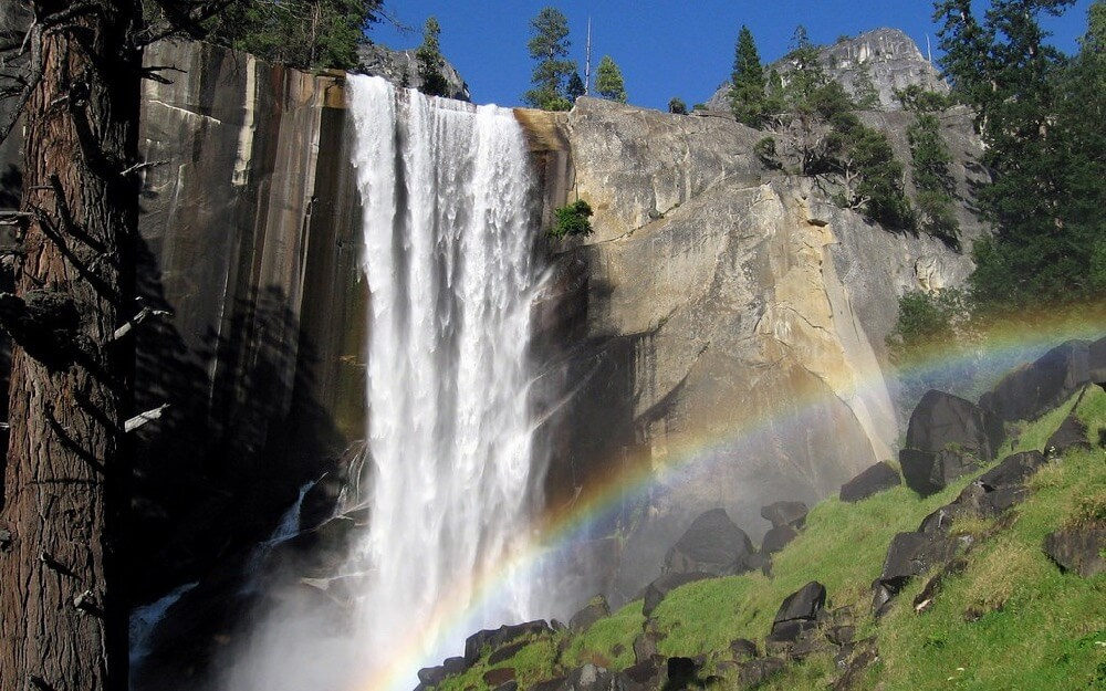 Jim Trodel - Vernal Fall and Rainbow