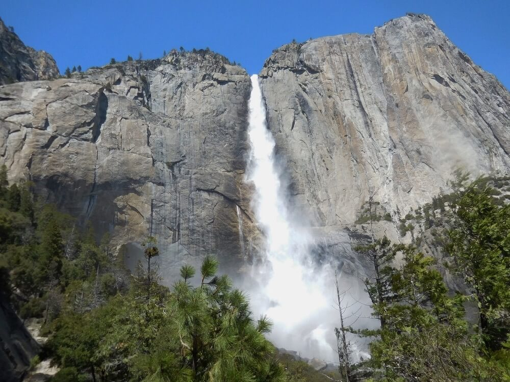 Cary Bass-Deschenes - Upper Yosemite Falls from Trail