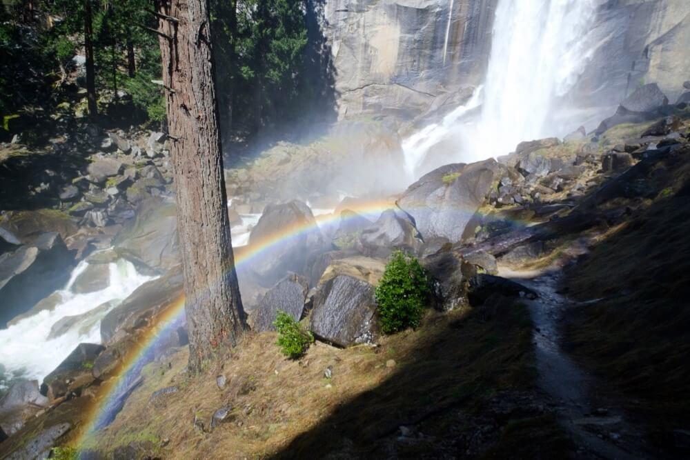 Roshan Vyas - Yosemite Vernal Falls and Mist Trail