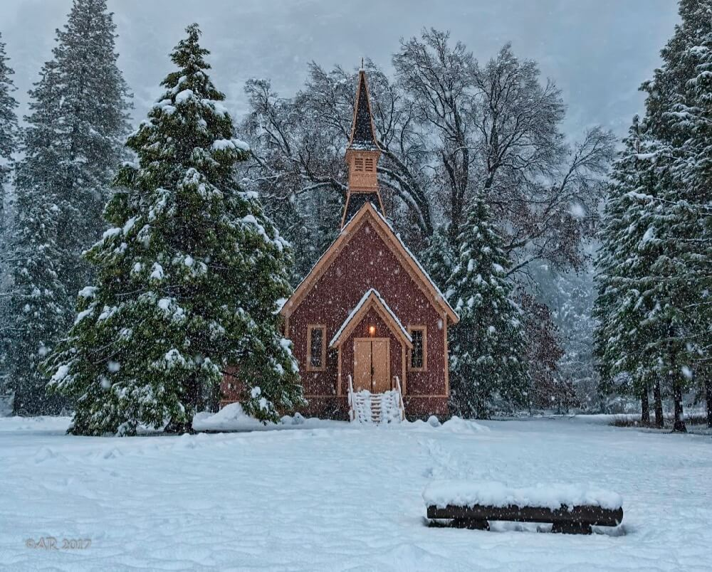 Anita Ritenour - Yosemite Valley Chapel