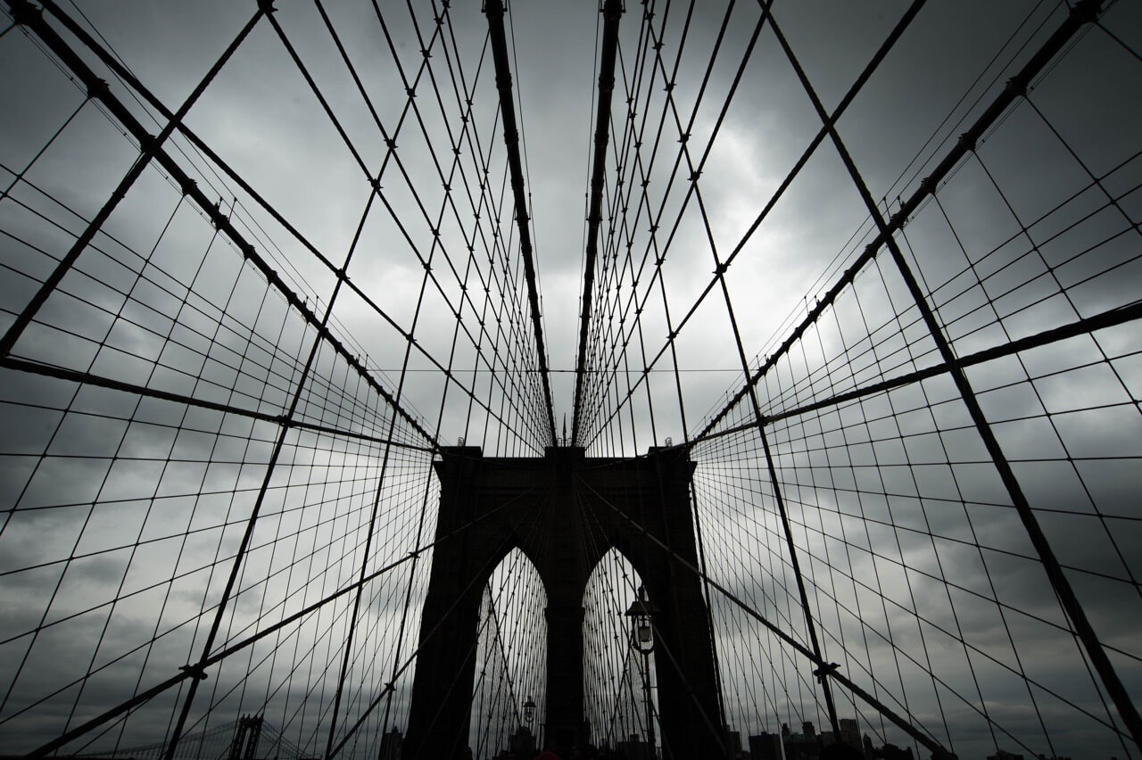 Spiros Vathis - brooklyn bridge grid