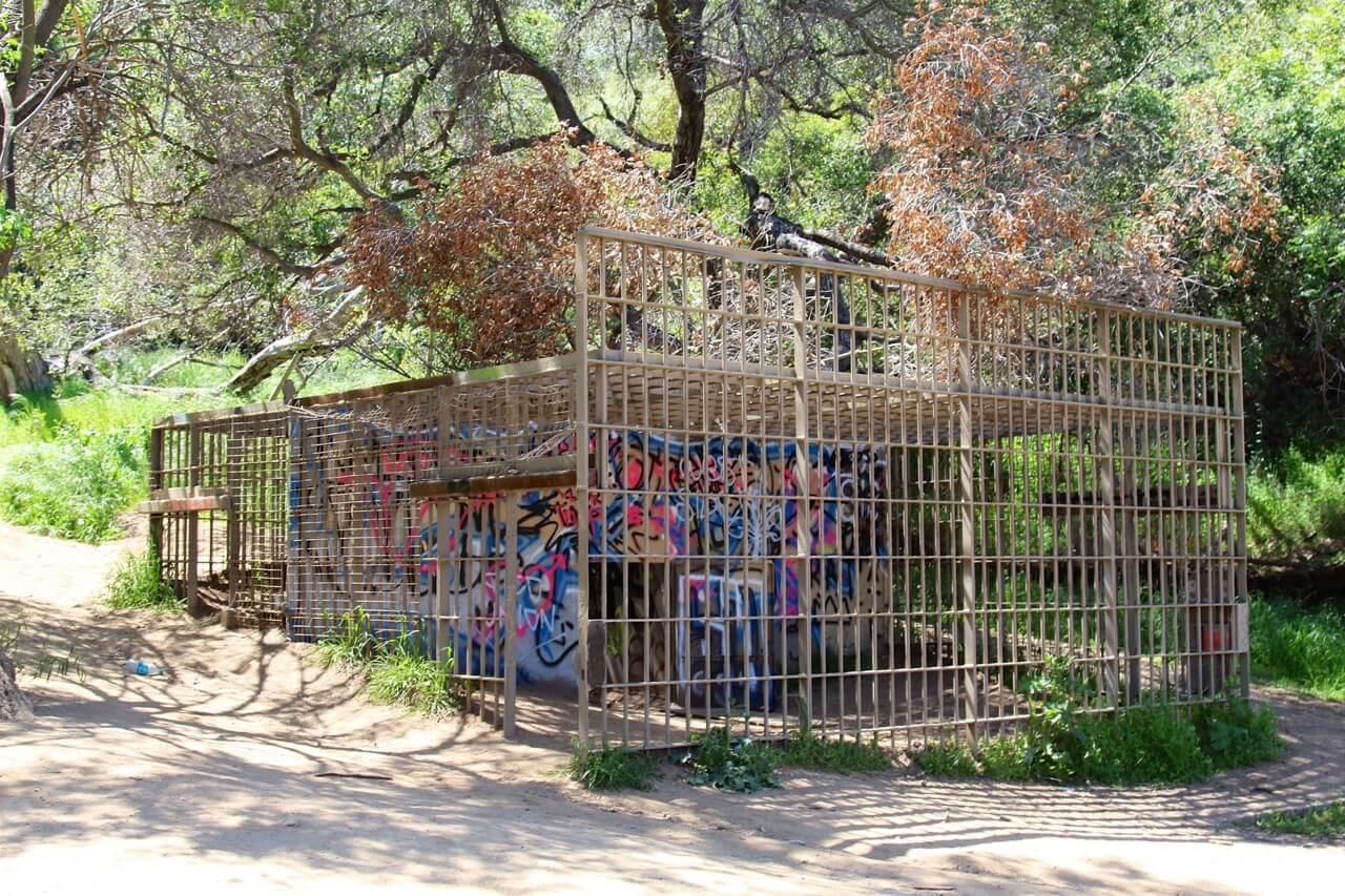 David Fulmer - Abandoned zoo cage