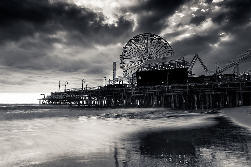 Pacheco - Santa Monica Pier - Santa Monica Ca - while supa moon waitin