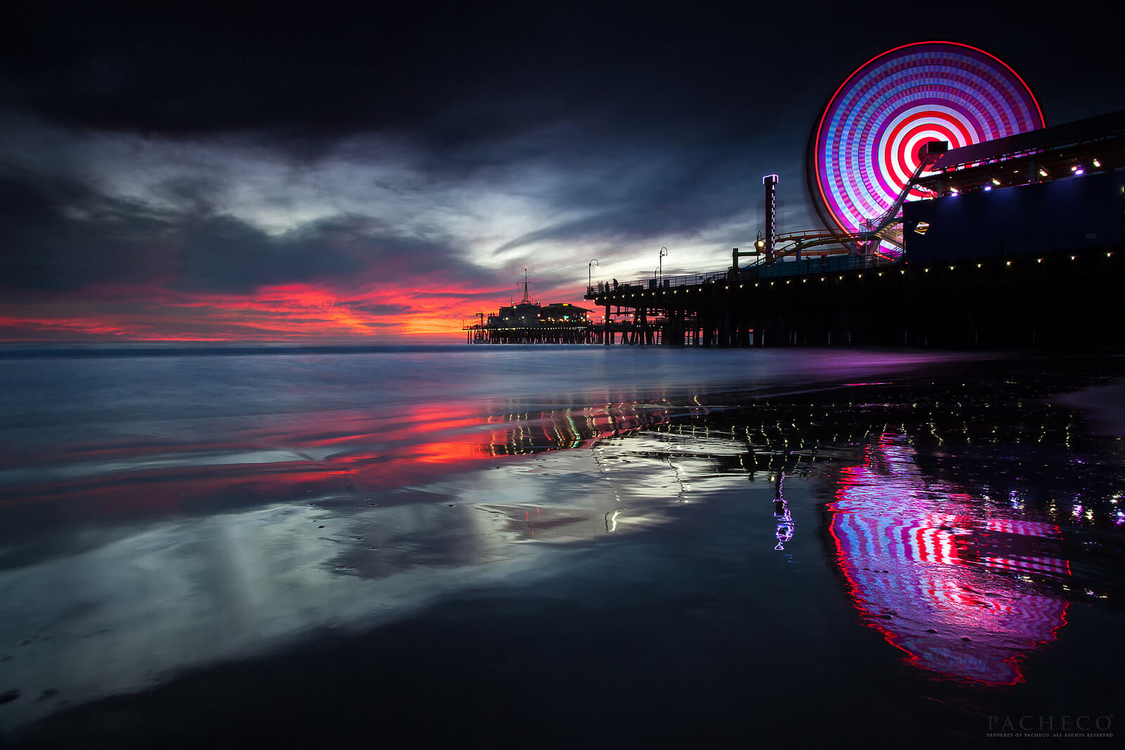 Pacheco - The memory Seeker, Santa Monica Pier, Ca