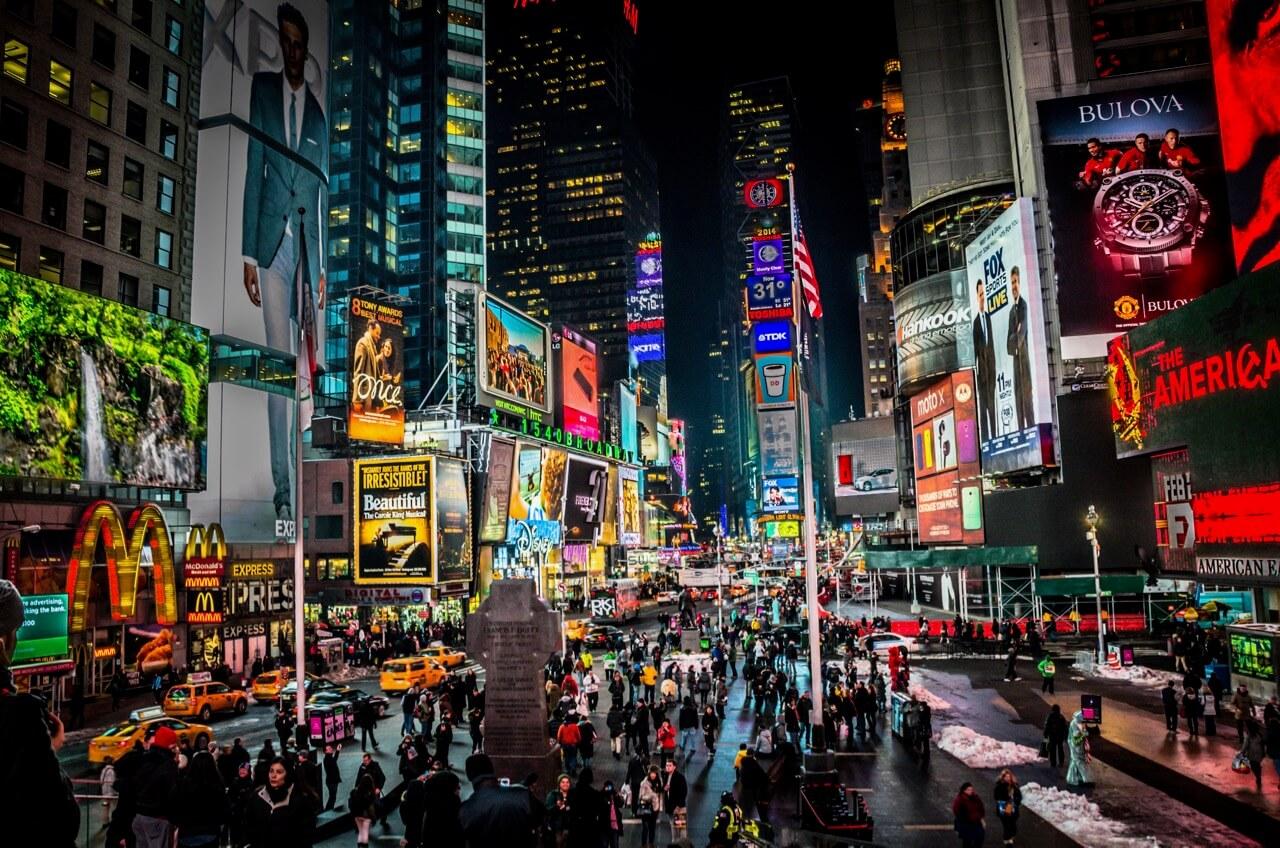 MK Feeney - Times Square, NYC