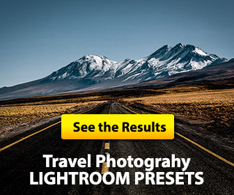 travel photography presets