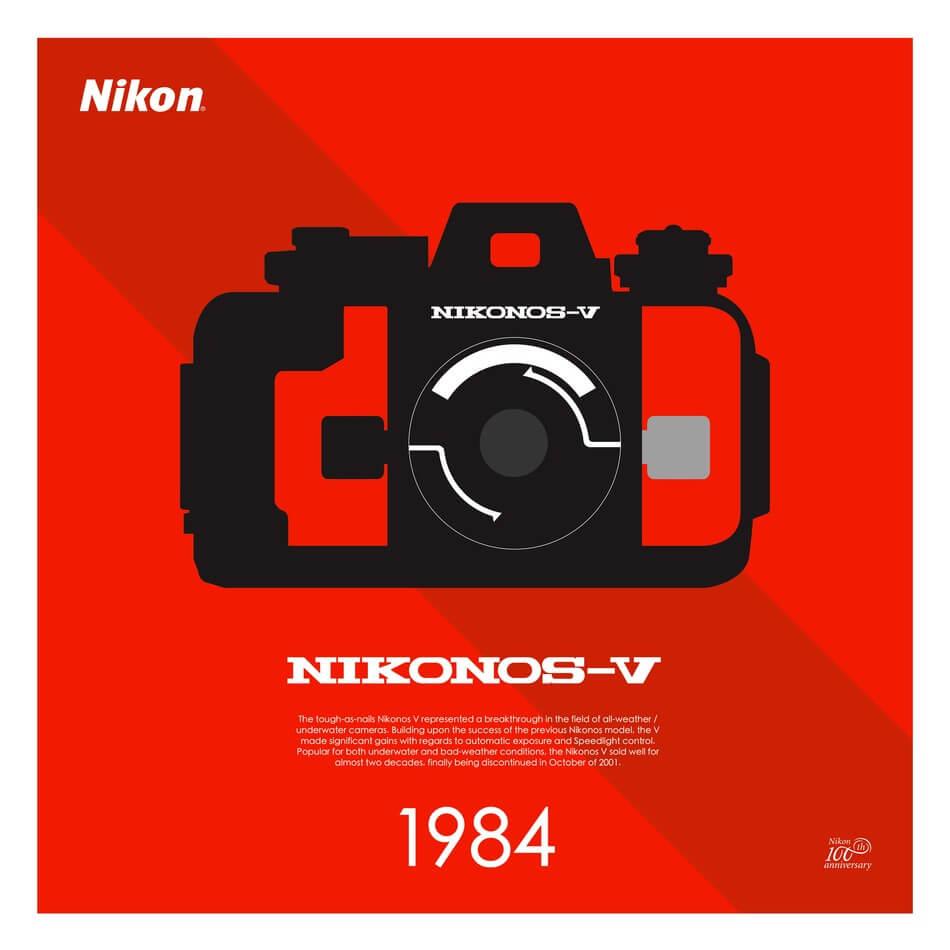 Limited Edition Camera Posters That Celebrate Nikons 100 Year Nikon D1 Nikonos V