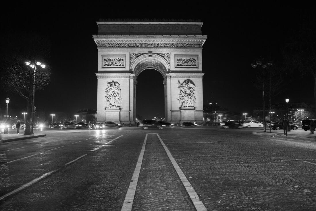 Bradley Weber - Arc de Triomphe