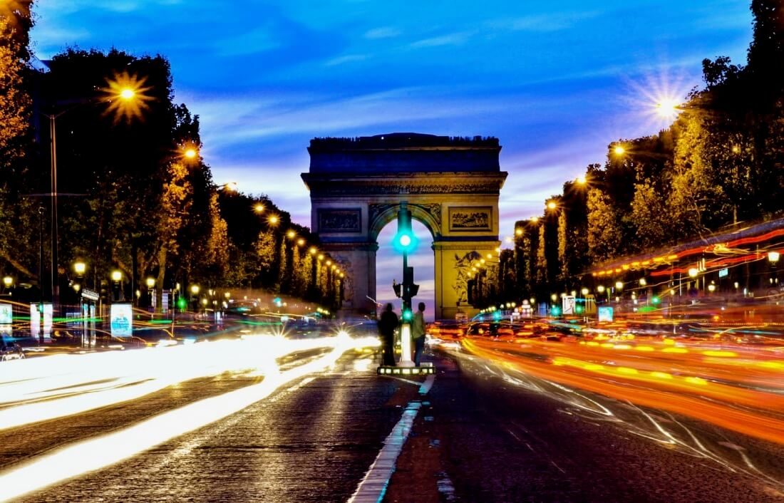 Khairul Abdullah - paris_arc de triomphe at dusk