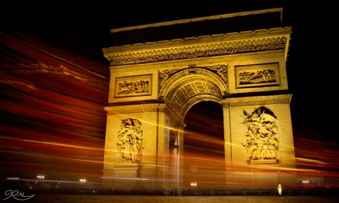 Rose Morelli - Arc De Triomphe
