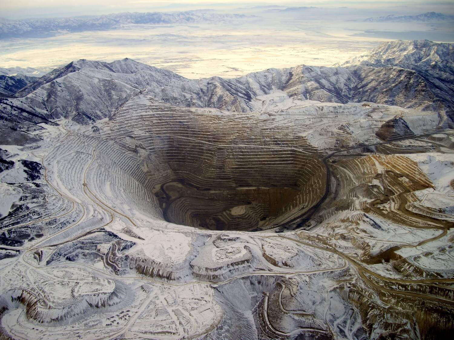 Michael Lynch - bingham canyon mine utah