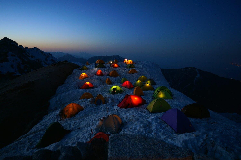 Masaki Sato - camping mt tsubakurodake