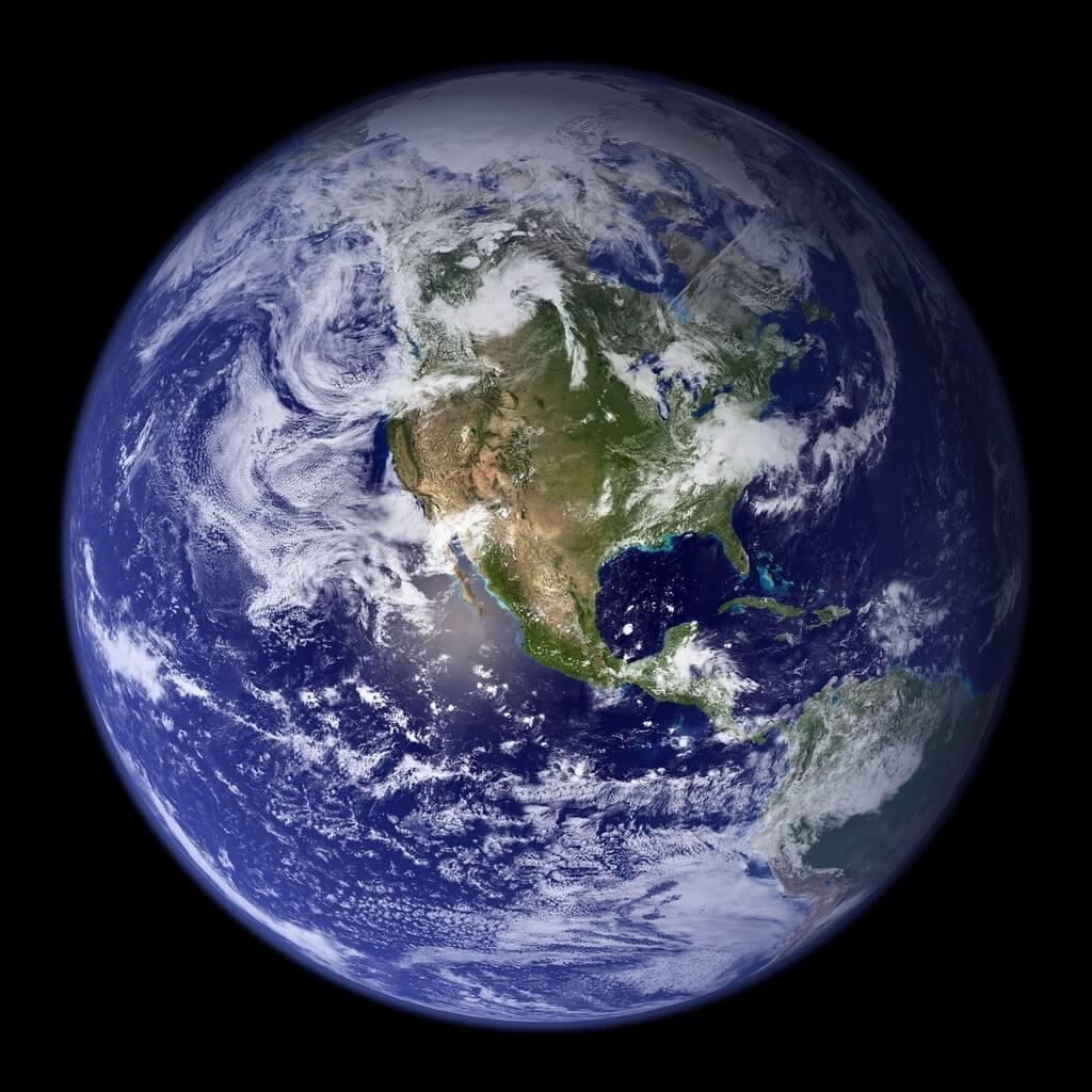 Earth Blue Marble 2002