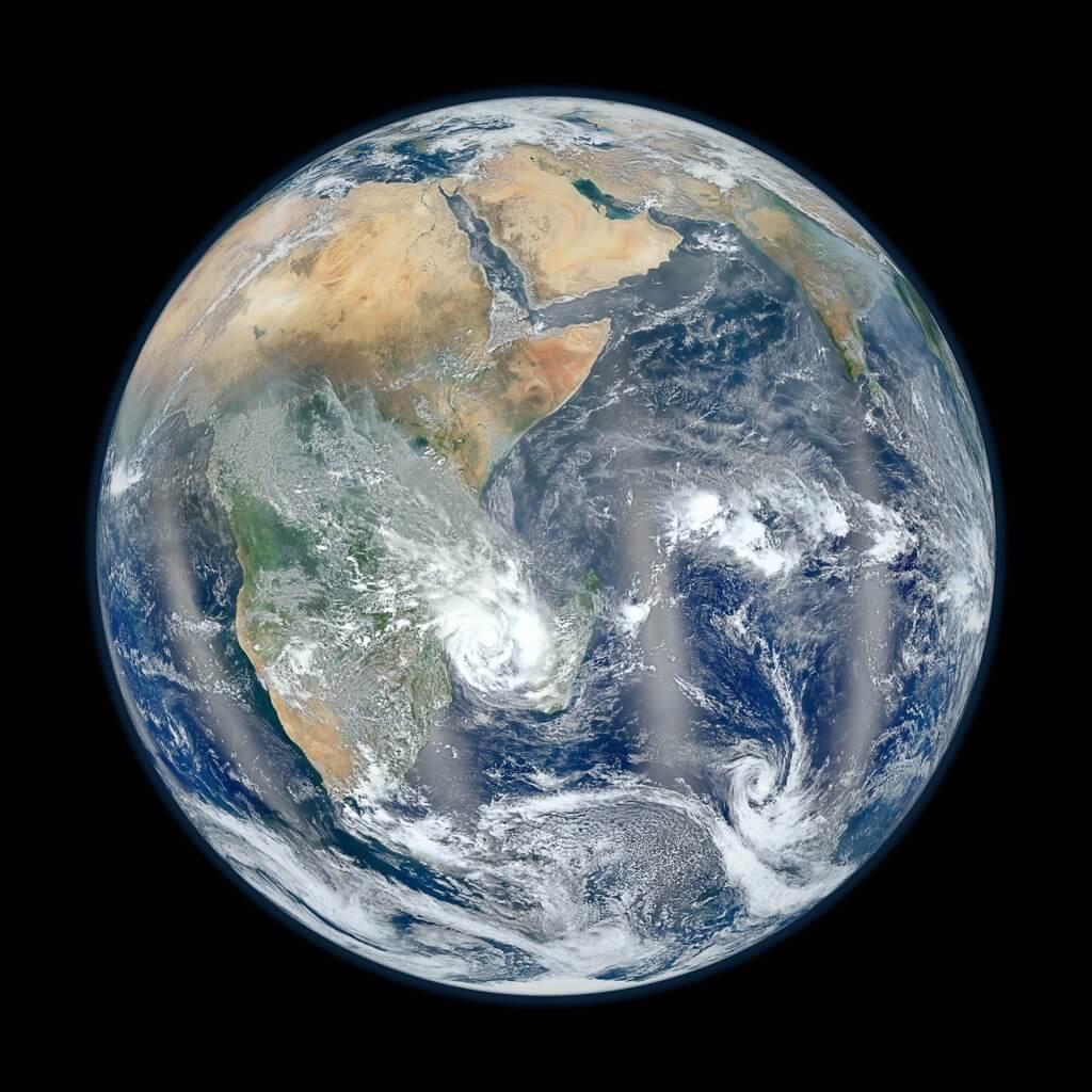 Earth's Eastern Hemisphere - Blue Marble 2012