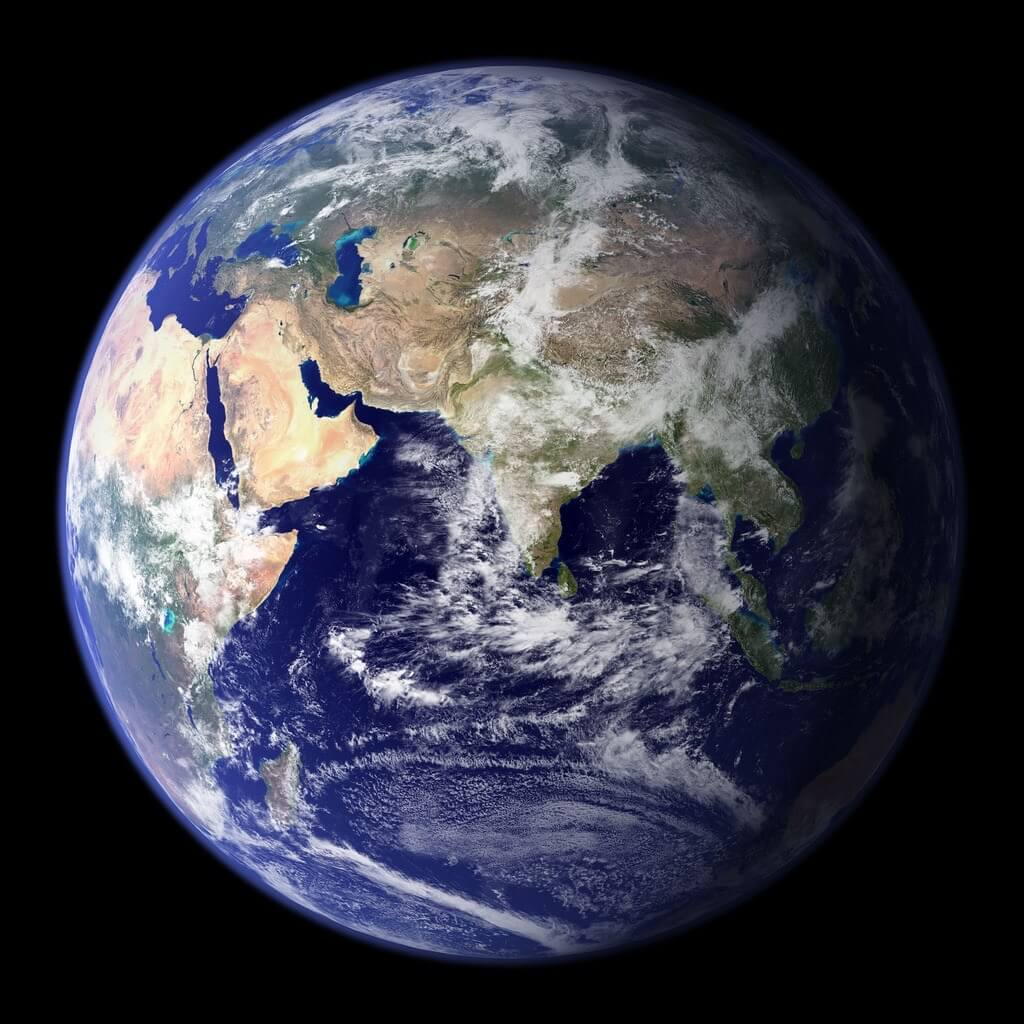 Earth Blue Marble - 2002
