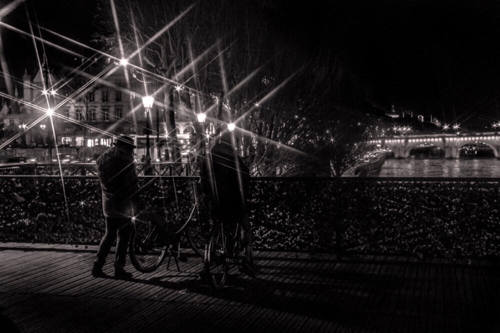 Vincent Anderlucci - Pause au pont des arts