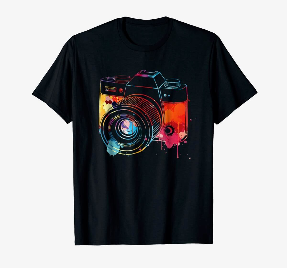 Watercolor Camera by funny photography shirt