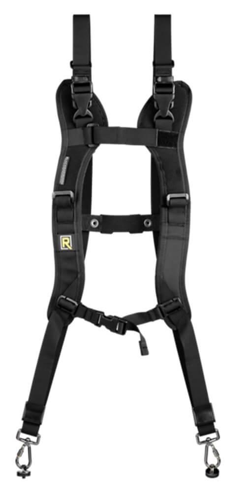 blackrapid two-camera harness