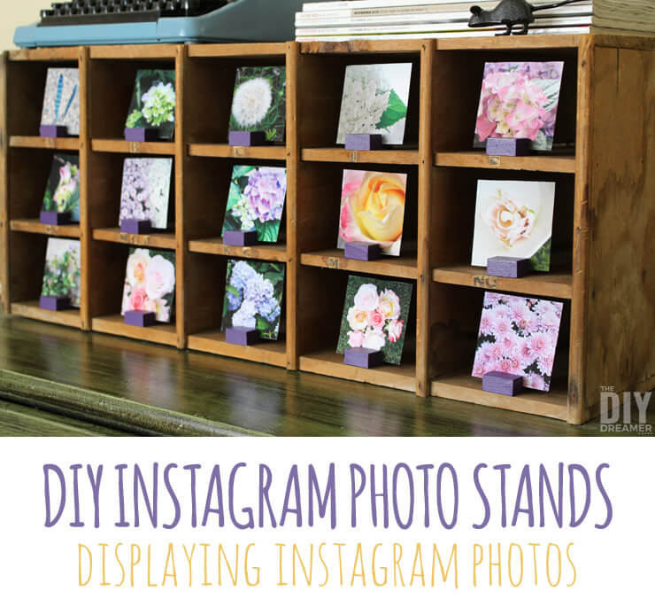instagram photo stand