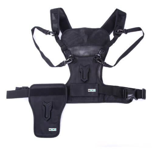 multiple camera vest