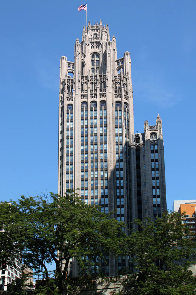 the tribune tower