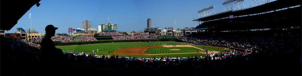 Keith Cooper - Wrigley Field, Chicago