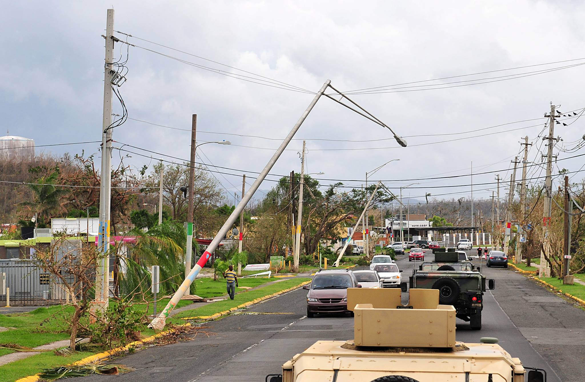 puerto rico national guard hurricane maria