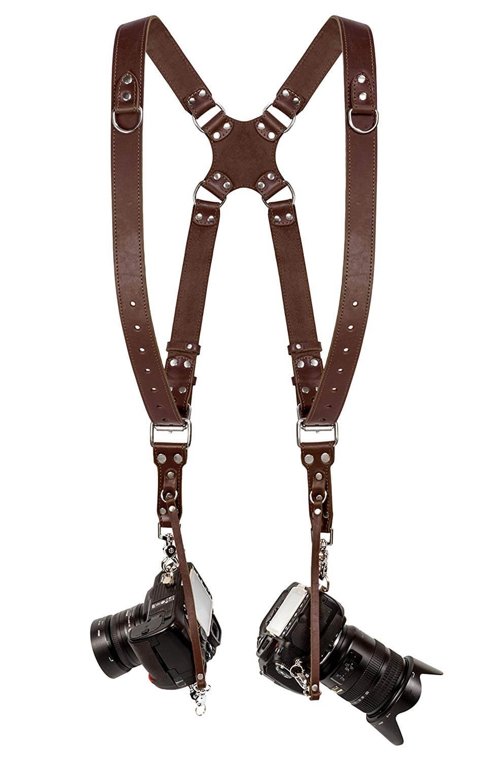 Coiro Dual Shoulder Leather Harness