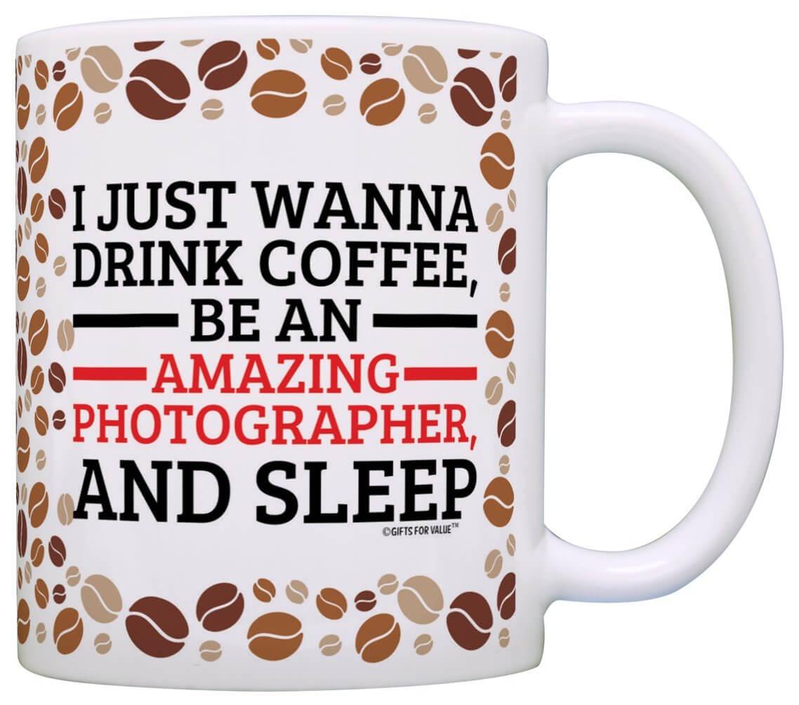 amazing photographer mug