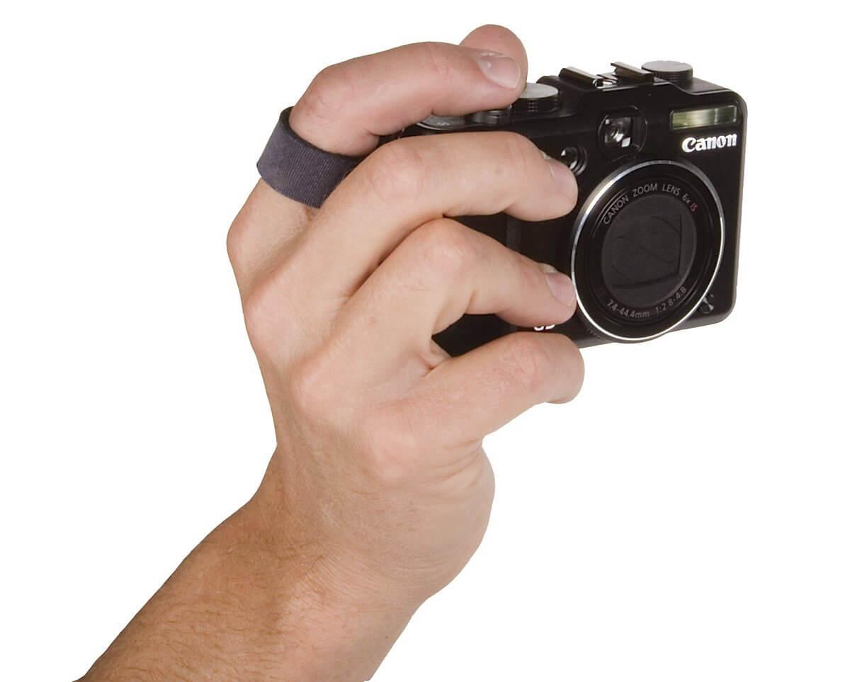finger camera strap