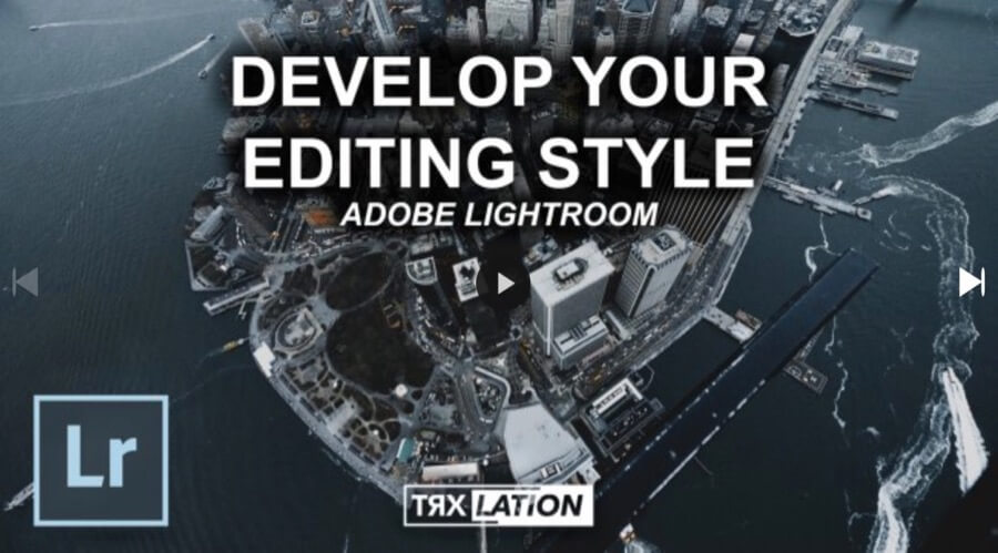 lightroom editing style