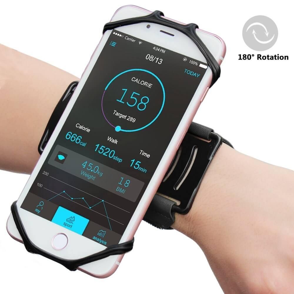 smartphone wristband
