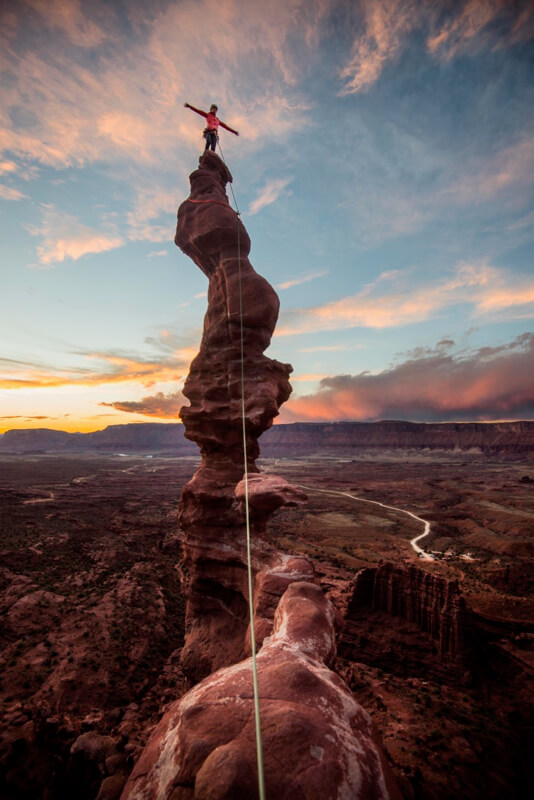fisher towers by ted hesser