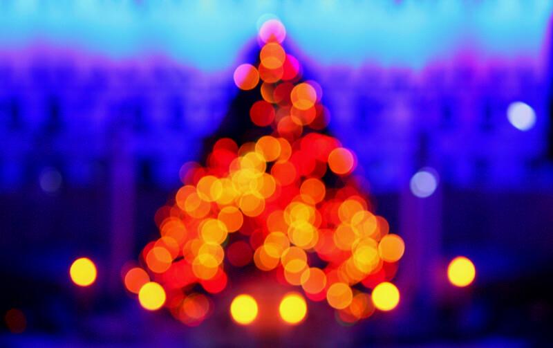 shutterdose - Christmas Tree Bokeh