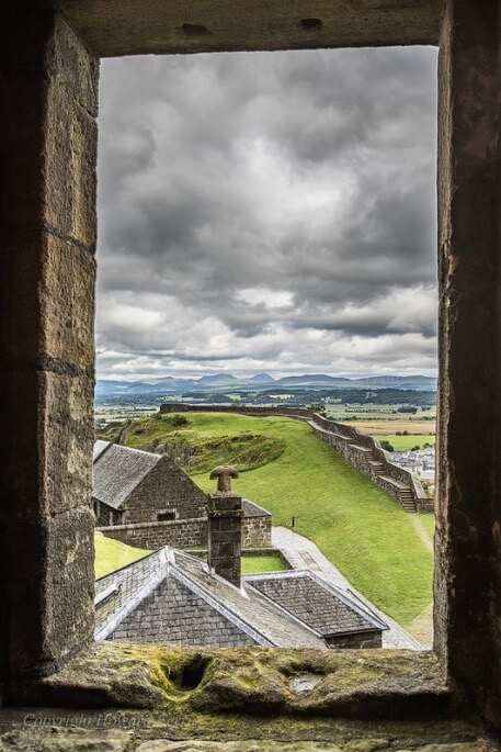 Howard Ferrier - Overlooking Stirling Castle