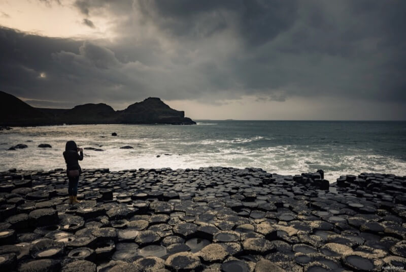 {Flixelpix} David - The Giant's Causeway