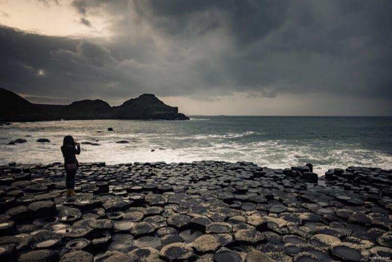 {Flixelpix} David - The Giant's Causeway