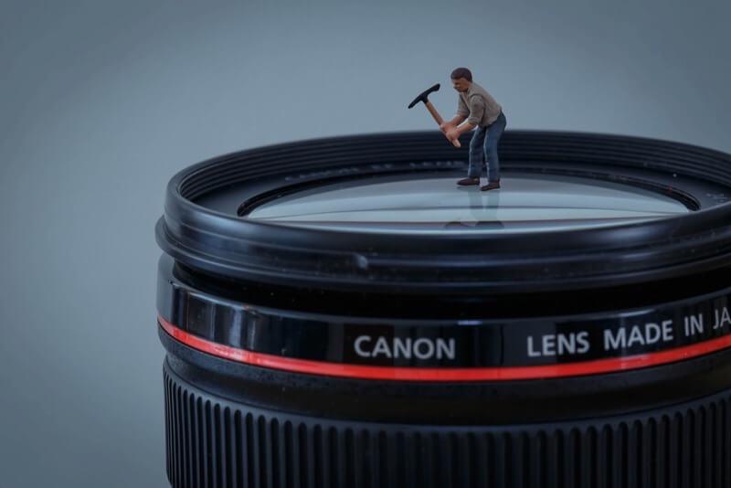 miniature camera lens