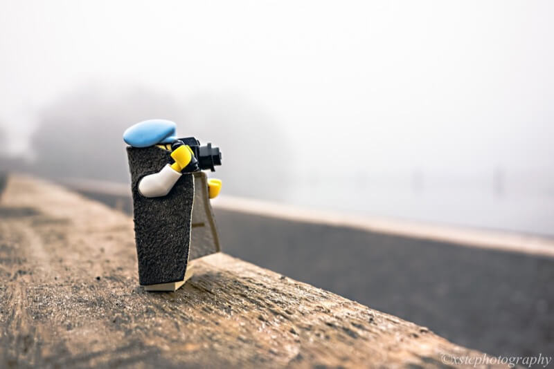Foggy Morning lego photographer