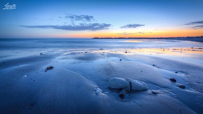 Marco Bergner - Blue Hour Helgoland/Düne