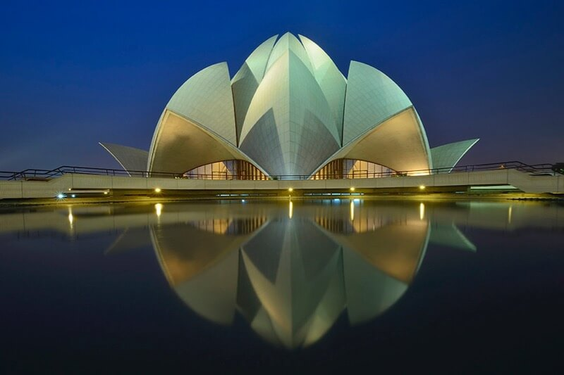 Nimit Nigam - Blue Hour Lotus Temple