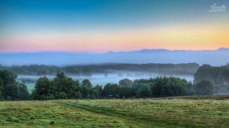 Marco Bergner foggy landscape