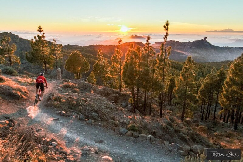 canary islands cycling