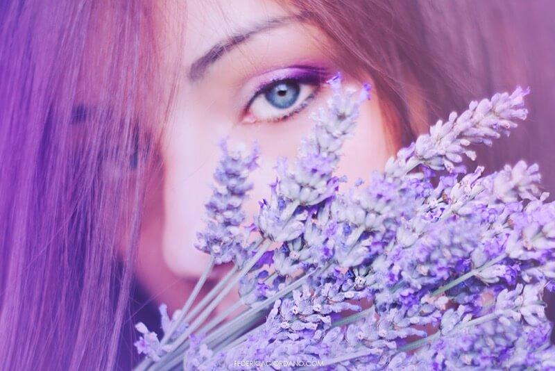 Federica Giordano violet