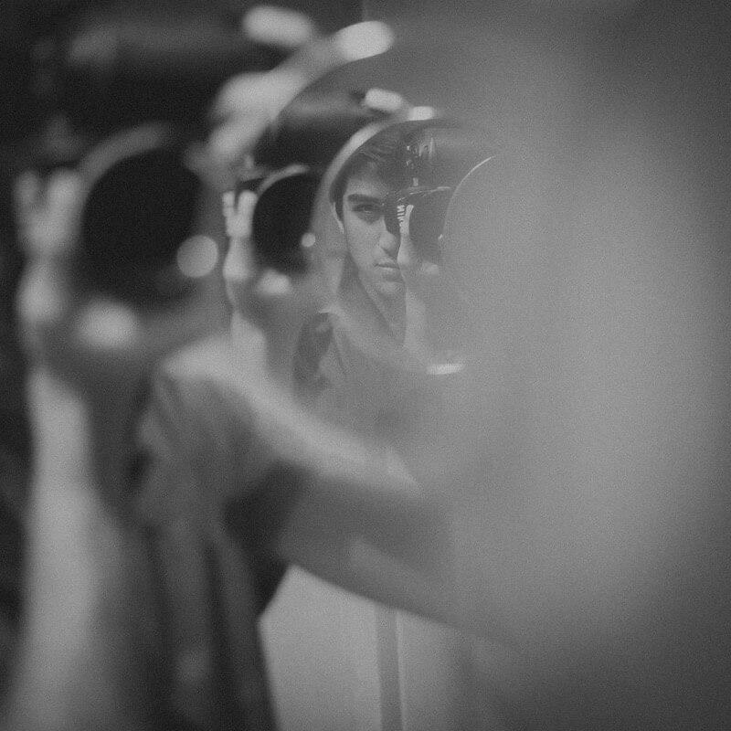 Gili Benita - Self Portrait reflection