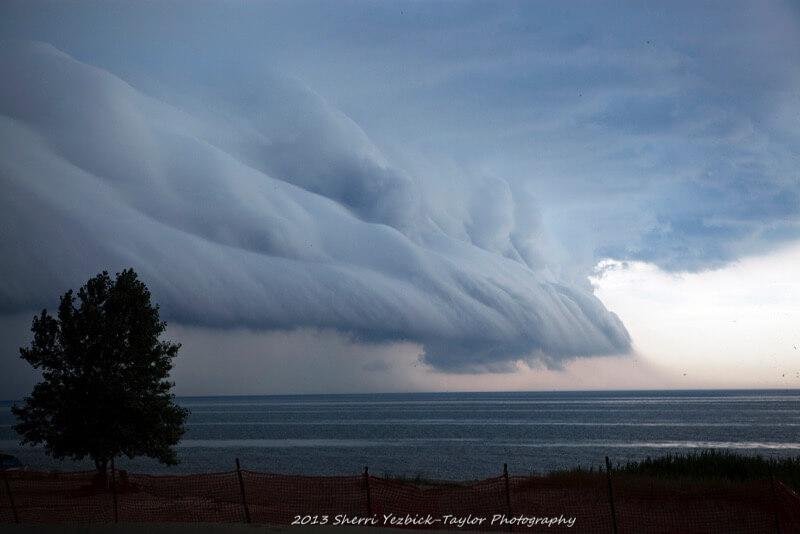 Sherri Yezbick-Taylor - Storm front approaching