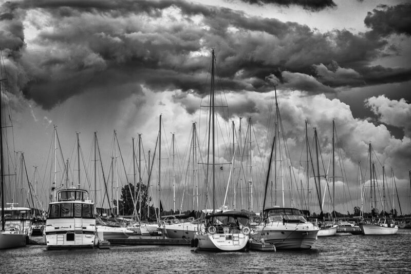 Ben Roffelsen Photography storm clouds